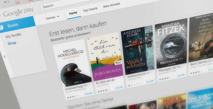 Google Play Books und DRM